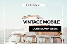 Vintage Mobile Lightroom Presets by  in Actions