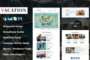 VACATION - Responsive Email Template