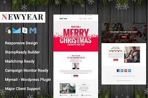 NEWYEAR - Responsive Email Template