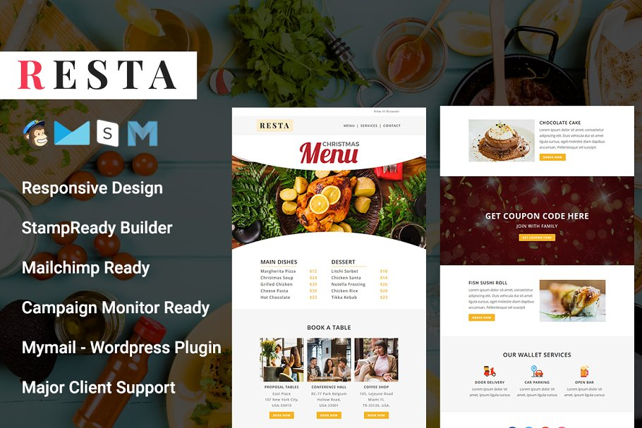 RESTA - Responsive Email Template