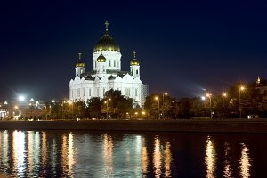 Christ the Savior cathedral.Moscow