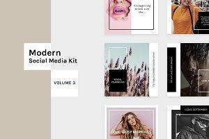 Modern Social Media Kit (Vol. 3)