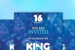 Modern Wedding/Marriage Invitation C