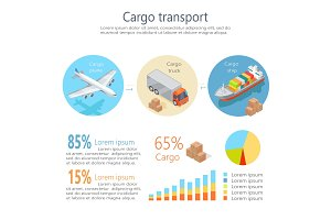 Cargo Transport Isometric