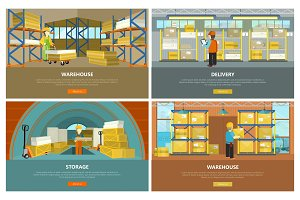 Warehouse, Storage and Delivery