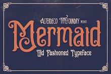Mermaid Typeface + Webfont