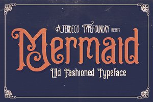 Mermaid Typeface + Webfont