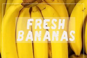 Fresh Bananas Hand Drawn Font