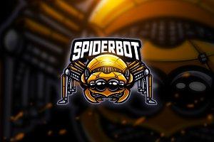 Spiderbot - Mascot & Esport Logo