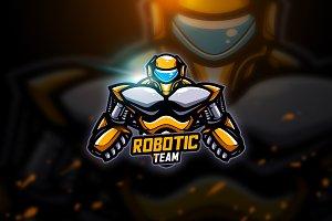 Robotic 2 - Mascot & Esport Logo