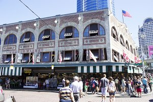 Building in Pike Place
