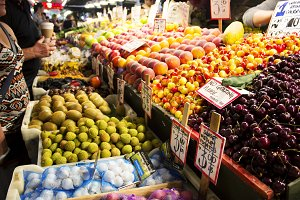 Fresh food in Market