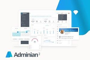 Adminian 2 | Web App Design System
