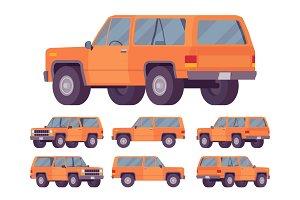 Orange offroad set
