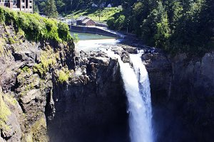 Snoqualmie waterfall