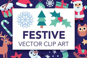 Festive Vector Art Pack