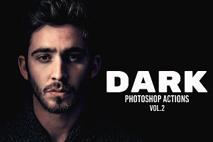 Dark Photoshop Actions Vol.2