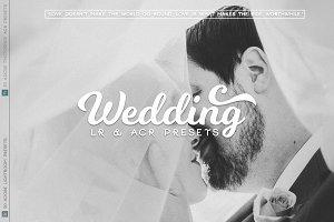 Wedding Lr and ACR  Presets