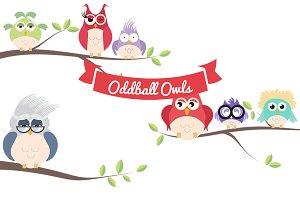 Oddball Owls, Vol 1
