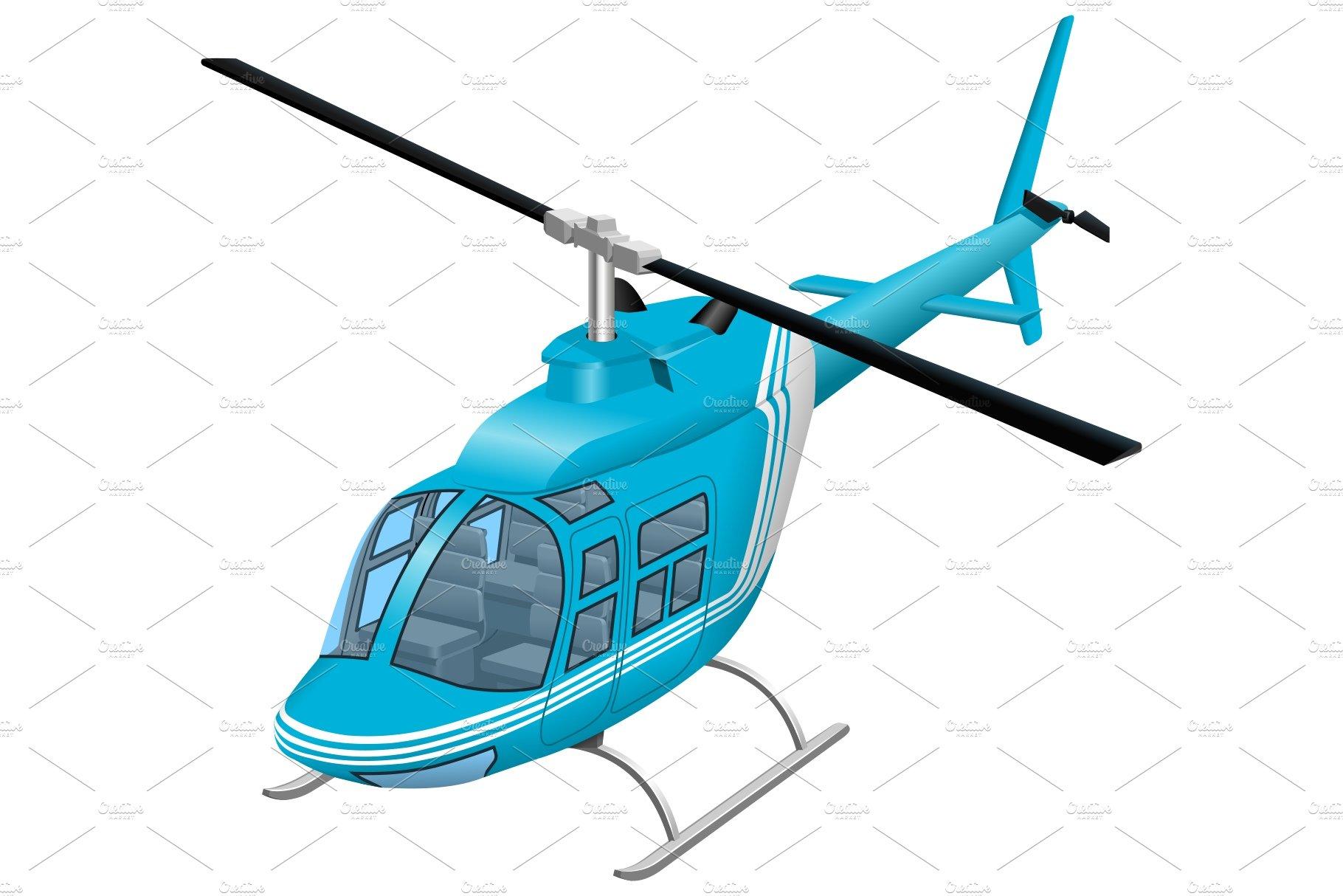 helicopter vector illustration pre designed illustrator graphics creative market helicopter vector illustration