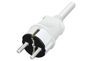 Electrical plug 3d
