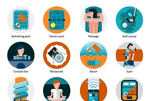Hotel offers and facilities icons