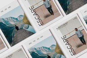 Escape Magazine Template