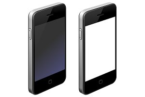 Smartphone blank icon