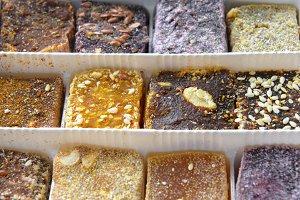 Set of oriental eco sweets