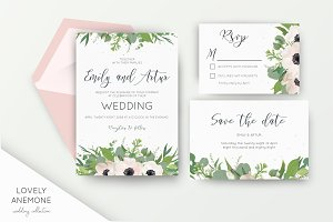 Wedding suite - Lovely Anemone