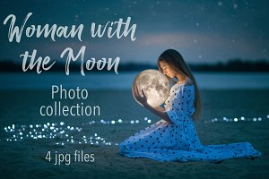 Woman with the Moon