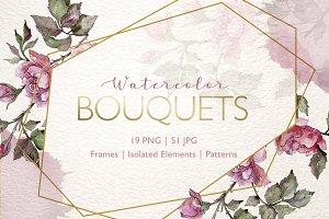 Bouquets Watercolor png
