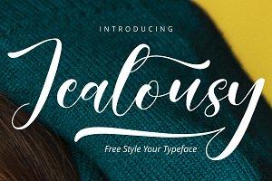 Jealousy Handwritten Typeface