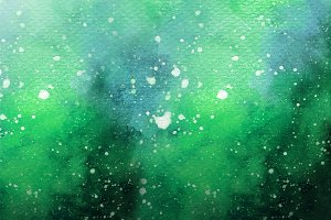 Green Nebula Paint
