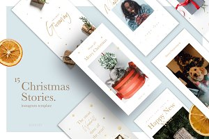 Christmas Stories Social Media Pack