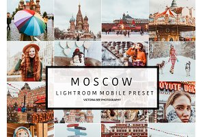 Mobile Lightroom Preset MOSCOW