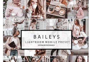 NEW! Mobile Lightroom Preset BAILEYS
