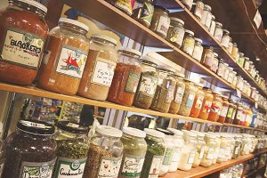 Spices in Pike Place