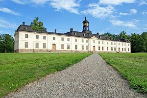 Svartsjo castle in Sweden