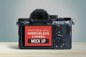 Mirrorless Camera Mock-Up