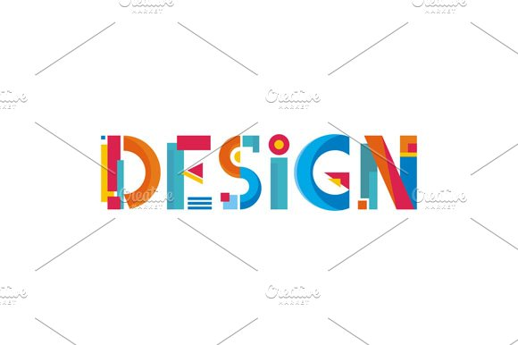 design word abstract sign illustrations creative market