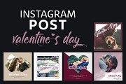 Instagram Post Template - Valentine