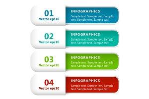 Infographics Options Banners