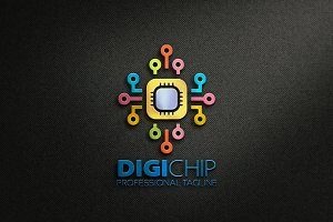 Digital Chip Logo