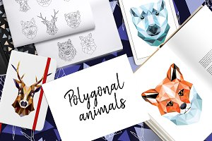 Polygonal animals
