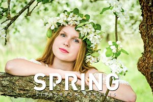 50 Spring Lightroom Presets
