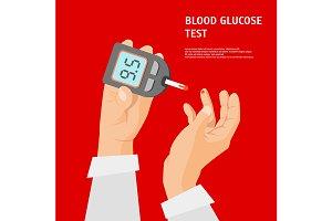 Cartoon Diabetes Concept