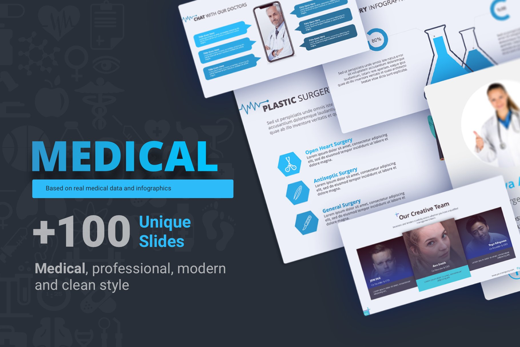 Premium medical ppt template