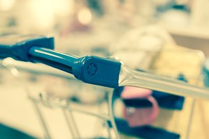 Retro shopping cart