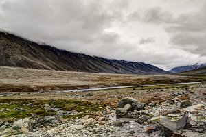 Panorama of Yasin Valley, Gilgit-Bal